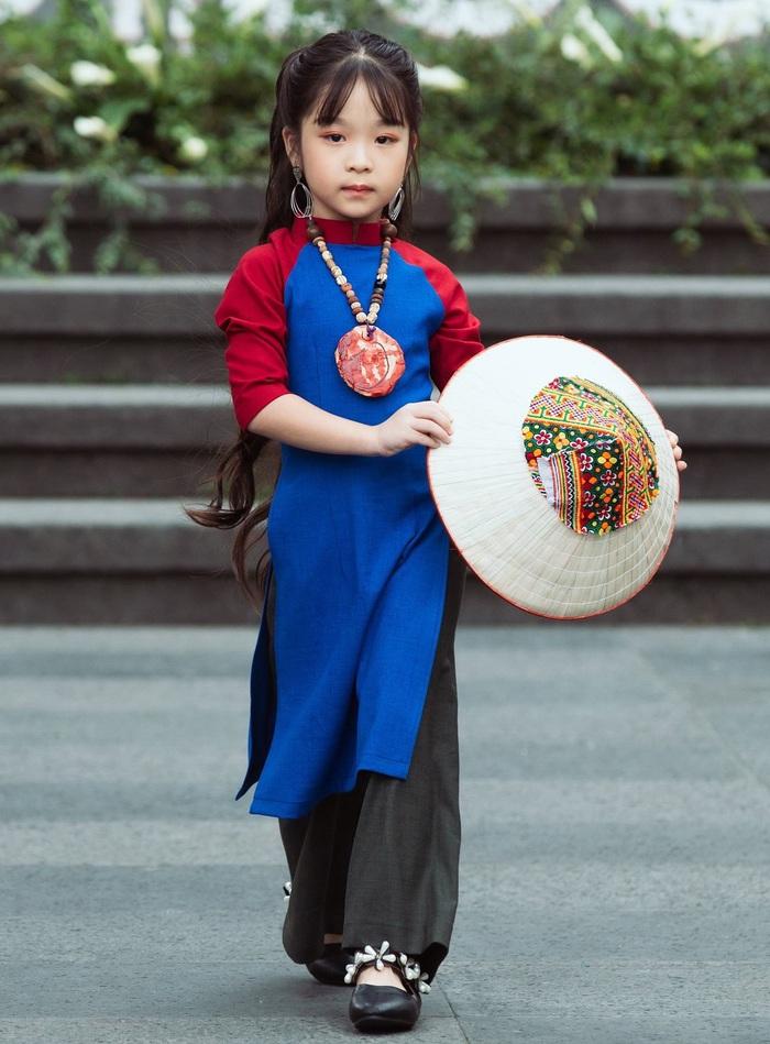 (anh Đăng) NTK Minh Phương: Chọn lối đi mới từ áo dài trẻ em - Ảnh 5.