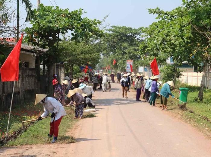 Quảng Bình: Đa dạng hoạt động xây dựng nông thôn mới trong mùa dịch bệnh Covid-19  - Ảnh 2.