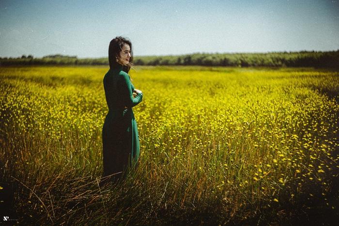 Thảo Nữ mê hoặc áo dài - Ảnh 8.