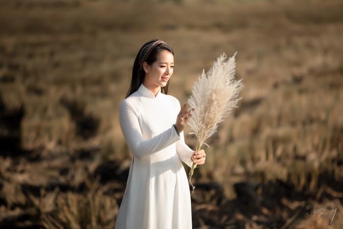 Thảo Nữ mê hoặc áo dài - Ảnh 4.