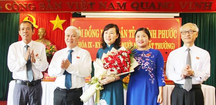 Nguyên Chủ tịch Hội LHPN Bình Phước được bầu giữ chức Chủ tịch HĐND tỉnh - Ảnh 1.
