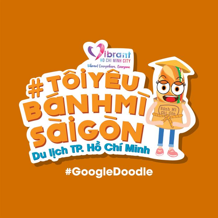 Google Doodle vinh danh bánh mì Việt Nam - Ảnh 4.