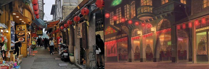 Khó ai ngờ những địa điểm đẹp mê hồn trong phim hoạt hình lại có thật ngoài đời - Ảnh 6.