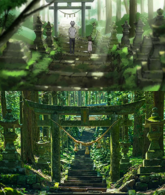 Khó ai ngờ những địa điểm đẹp mê hồn trong phim hoạt hình lại có thật ngoài đời - Ảnh 1.