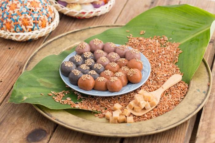 Tết Hàn thực sôi động với đủ loại bánh trôi bánh chay - Ảnh 4.