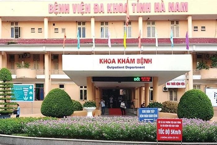 Bệnh viện Đa khoa tỉnh Hà Nam đang cách ly 8 người - Ảnh 1.