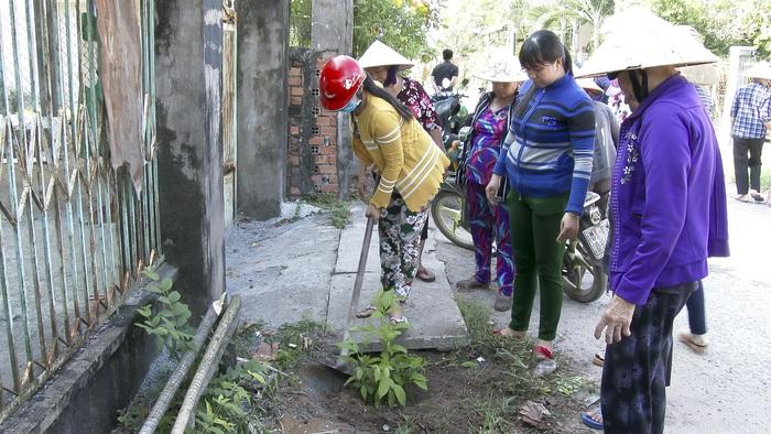 """""""Tuyến đường hoa phụ nữ"""" góp phần xây dựng nông thôn mới - Ảnh 1."""