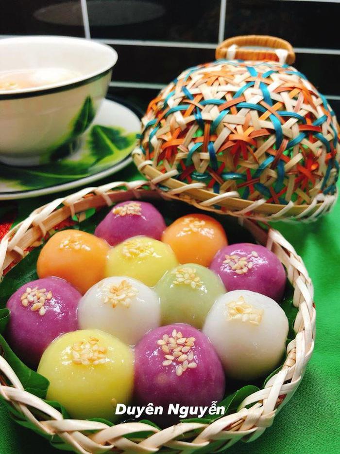 Tết Hàn thực, chị em khoe bánh trôi bánh chay đủ màu sắc rực rỡ mạng xã hội - Ảnh 21.