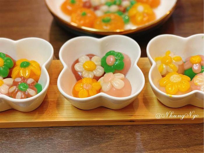 Tết Hàn thực, chị em khoe bánh trôi bánh chay đủ màu sắc rực rỡ mạng xã hội - Ảnh 13.