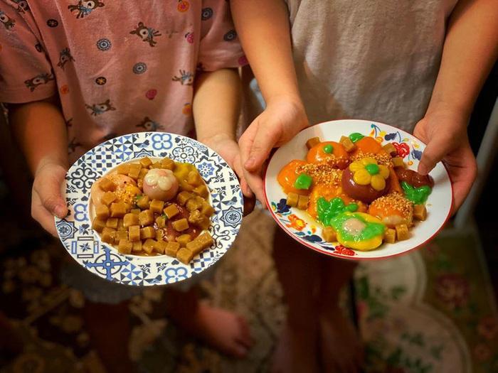Tết Hàn thực, chị em khoe bánh trôi bánh chay đủ màu sắc rực rỡ mạng xã hội - Ảnh 14.