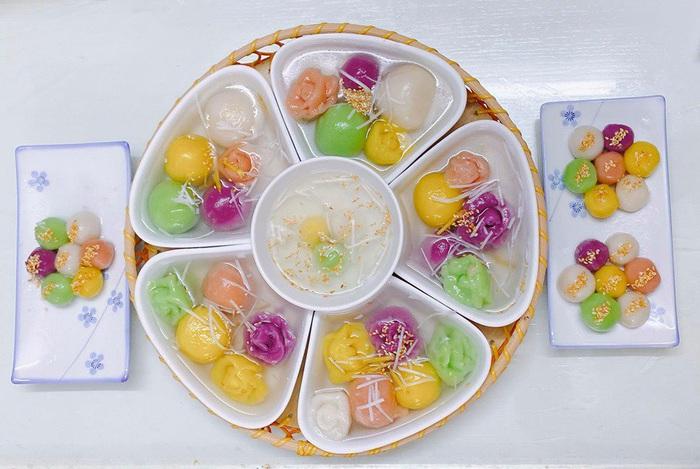 Tết Hàn thực, chị em khoe bánh trôi bánh chay đủ màu sắc rực rỡ mạng xã hội - Ảnh 4.