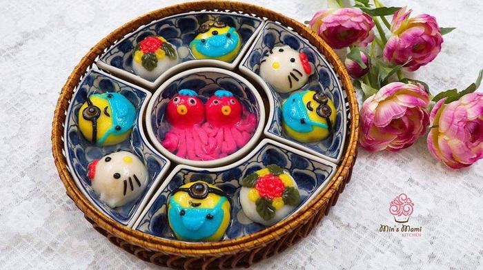 Tết Hàn thực, chị em khoe bánh trôi bánh chay đủ màu sắc rực rỡ mạng xã hội - Ảnh 11.