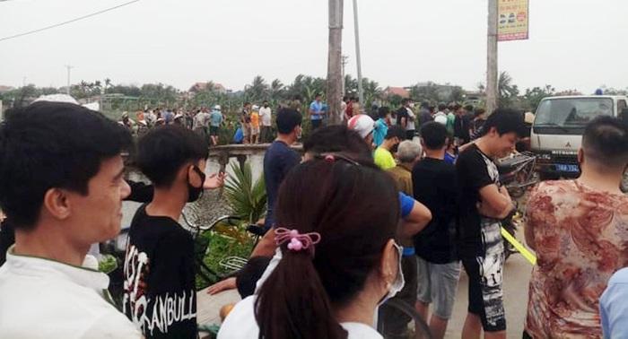 Hàng trăm người theo dõi thực nghiệm hiện trường vụ nữ sinh lớp 9 bị sát hại ở Hải Phòng - Ảnh 2.