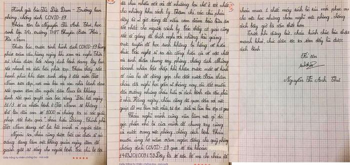 Một học sinh lớp 7 ở Hà Nam tiết kiệm tiền mua máy tính để ủng hộ chống dịch Covid-19 - Ảnh 1.