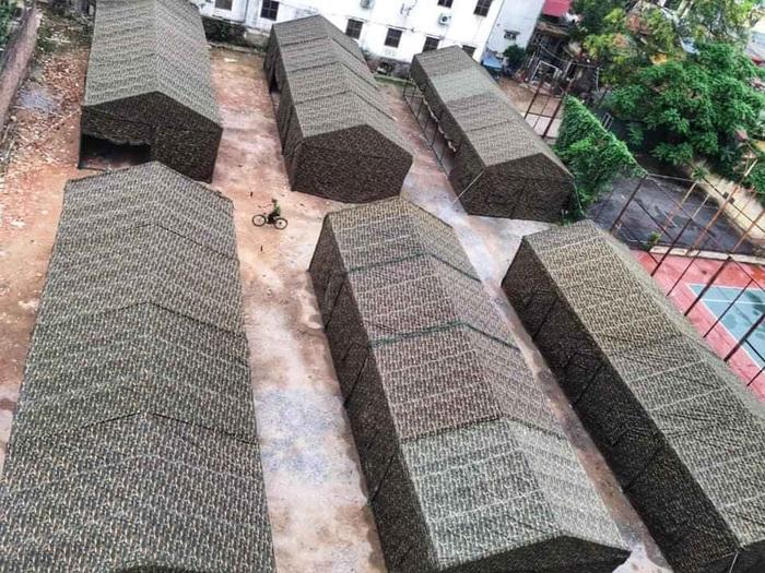 Toàn cảnh khu BV Dã chiến của BV Bạch Mai