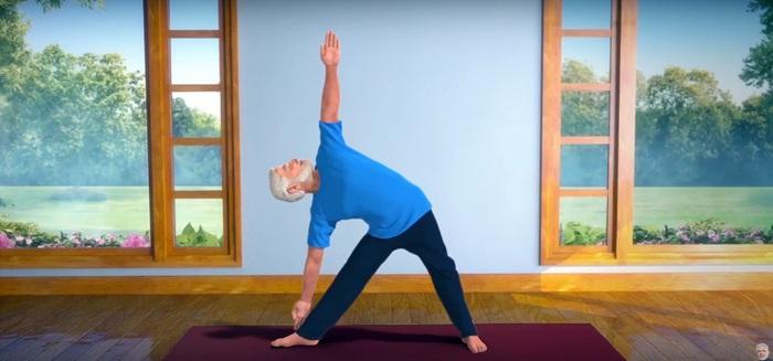 Cùng Thủ tướng Ấn Độ tập Yoga để phòng chống Covid-19  - Ảnh 1.
