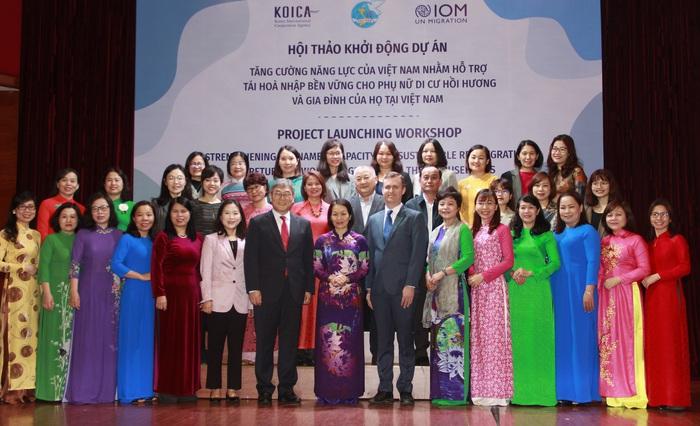 4 nhóm hoạt động hỗ trợ phụ nữ di cư kết hôn hồi hương - Ảnh 3.