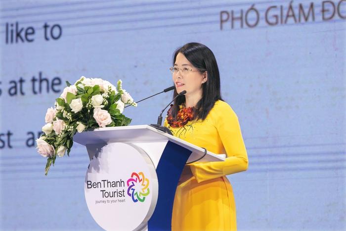"""Bà Nguyễn Thị Ánh Hoa, Phó Giám đốc Sở Du lịch TPHCM: """"Tôi đến với ngành du lịch bằng tình yêu, niềm đam mê và sự kiên trì"""" - Ảnh 1."""