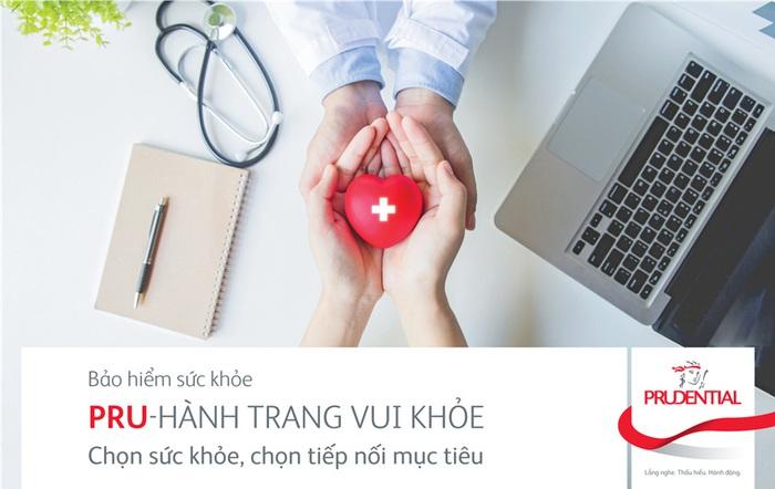 """""""PRU-Hành Trang Vui Khỏe"""" là sản phẩm bảo hiểm bổ trợ bảo vệ sức khỏe mới của Prudential, mang đến nhiều quyền lợi cho khách hàng."""