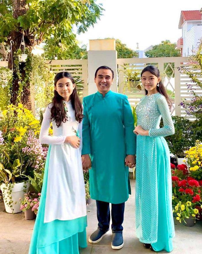 Quyền Linh đăng ảnh mừng sinh nhật con gái, 14 tuổi diện đồ lộng lẫy đẹp hơn cả Hoa hậu - Ảnh 4.