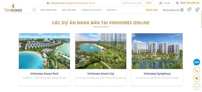 """""""Ngồi nhà - Mua nhà"""" Vingroup """"khơi mào"""" cuộc đua giao dịch bất động sản trực tuyến - Ảnh 2."""