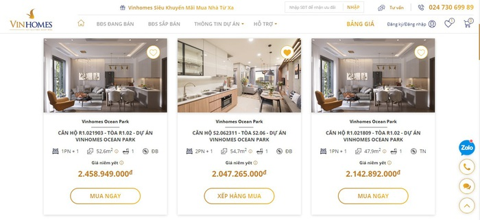 """""""Ngồi nhà - Mua nhà"""" Vingroup """"khơi mào"""" cuộc đua giao dịch bất động sản trực tuyến - Ảnh 3."""