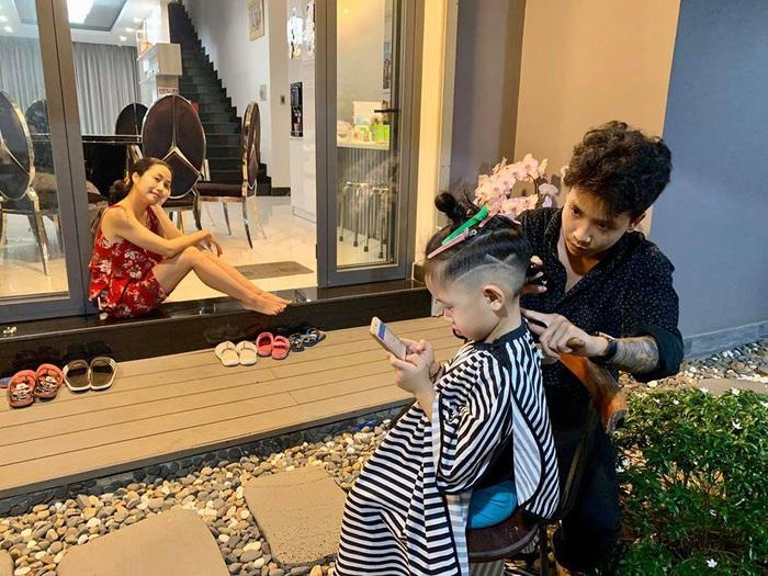 Ốc Thanh Vân đáp lời thắc mắc về việc cho con trai để tóc dài - Ảnh 8.
