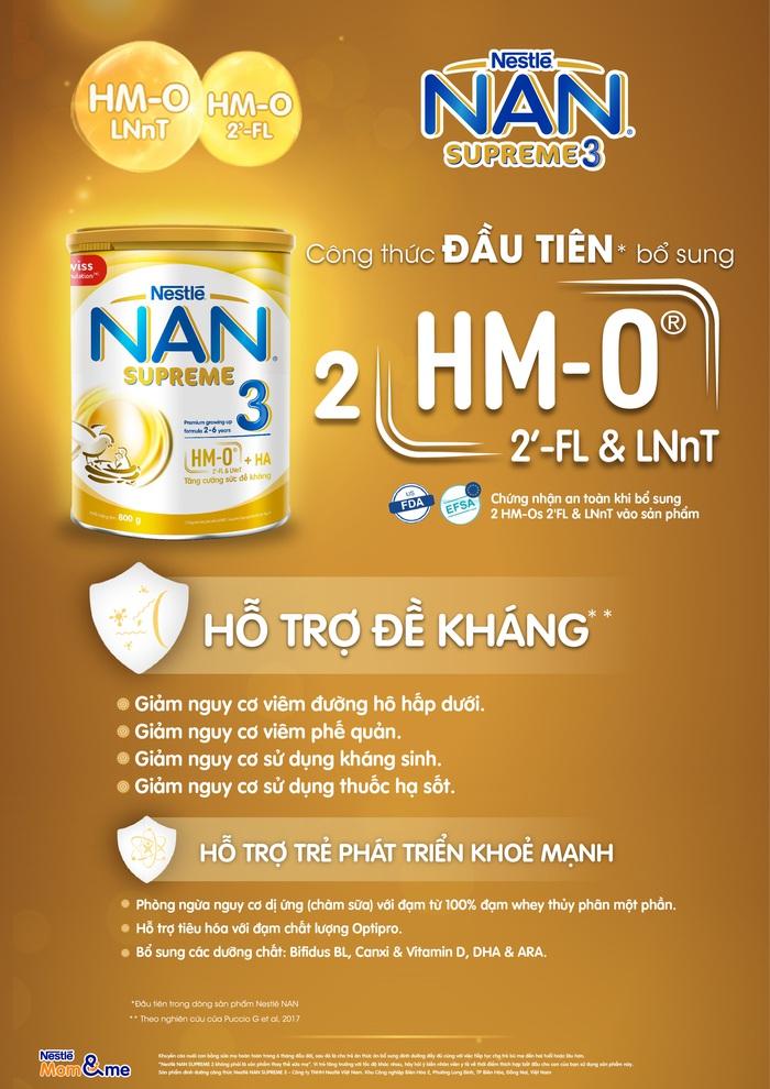 Thông tin chi tiết về sản phẩm NAN SUPREME 3 mới