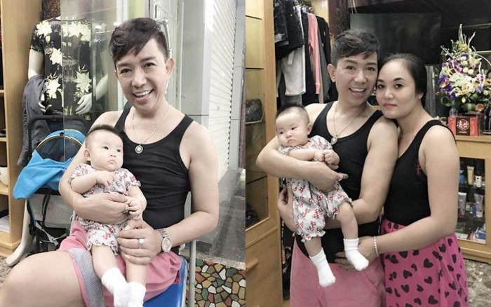 Nhiều người nghĩ Long Nhật đồng tính nhưng anh có tới 4 con, quý tử đầu lòng khá đẹp trai - Ảnh 6.