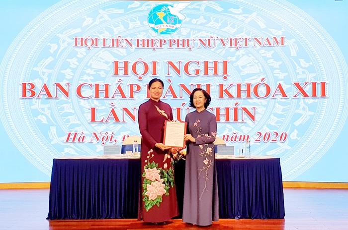 Đồng chí Hà Thị Nga được bầu làm Chủ tịch Hội LHPN Việt Nam - Ảnh 1.