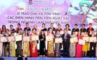 Trao giải và tôn vinh các điển hình xuất sắc trong ngành làm đẹp Việt Nam