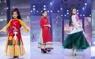 NTK Phương Nguyễn tái hiện mùa đông đầy cảm xúc trên áo dài trẻ em