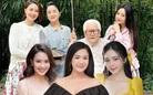 Hồng Diễm khoe mẹ và em gái màn ảnh, giống nhau ở nụ cười tỏa nắng