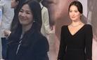 """Bắt gặp Song Hye Kyo đời thực: Tỏa sáng nhờ kiểu tóc """"bổ luống"""" phù hợp"""