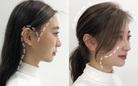Gái Hàn có một chiêu vuốt tóc mái để buộc tóc kiểu nào cũng đẹp