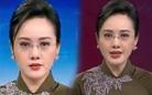BTV Hoài Anh được khen quý phái khi mặc áo dài dẫn chương trình Thời sự