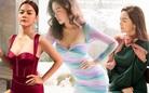 Than thở chuyện vóc dáng đẫy đà nhưng Phạm Quỳnh Anh vẫn diện váy ôm sát đẹp xuất sắc