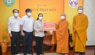Giáo hội Phật giáo Việt Nam tặng 10 máy thở đa năng cho TPHCM, Bình Dương và Long An