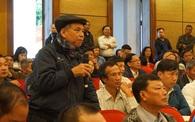 Thành uỷ Hà Nội đối thoại với người dân bãi rác Nam Sơn: Dân lo tiền đền bù không đủ tái định cư