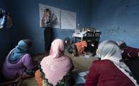 Lớp học chữ cho phụ nữ tị nạn ở Malaysia