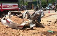 Vụ xe tải đè bẹp xe con khiến 3 người tử vong ở Thanh Hóa: Xe tải đã hết hạn đăng kiểm