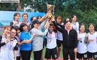 Đội tuyển Hội LHPN Việt Nam vô địch giải bóng đá nữ Đoàn Thanh niên Khối các cơ quan Trung ương