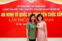 Nhà văn nữ 8X lần thứ hai giành giải A cuộc thi viết văn đề tài Vì an ninh Tổ quốc