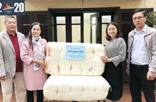 Hội LHPN huyện Phú Xuyên ủng hộ 100 chiếc màn cho Chương trình Mottainai 2020