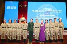 Phụ nữ góp phần quan trọng vào thành công gìn giữ hòa bình thế giới