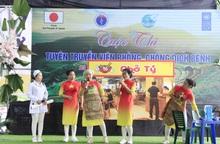 Chuỗi hoạt động tuyên truyền, hỗ trợ phụ nữ, trẻ em của Trung ương Hội tại Hà Giang