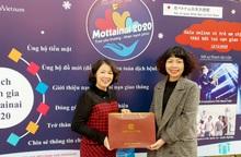 Công ty Thiên Tâm Thảo tặng bộ sản phảm đông trùng hạ thảo để bán đấu giá gây quỹ Mottainai 2020