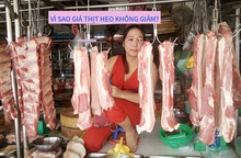 Thịt heo tăng giá: Thương lái, tiểu thương có thực sự ''ăn dày''?