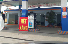 """""""Găm"""" 20 nghìn lít xăng không bán, chờ tăng giá, cửa hàng xăng dầu ở Hà Nội bị xử lý"""