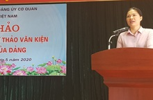 Đảng ủy Cơ quan TƯ Hội LHPNVN tổ chức hội thảo góp ý dự thảo Văn kiện Đại hội XIII của Đảng